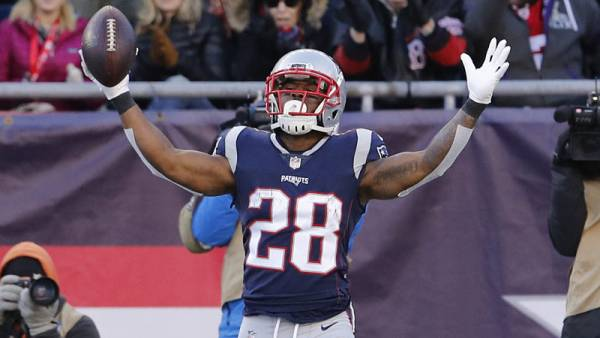 James White Prop Bets 2019 - Touchdowns, Receptions, More