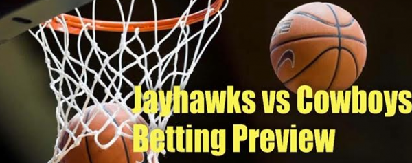 College Basketball Betting – Kansas Jayhawks at Oklahoma State Cowboys