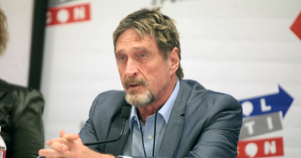 Crypto Crime Cartel: John McAfee, Others Arrested