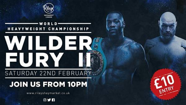Where Can I Watch, Bet Wilder vs. Fury 2 From London