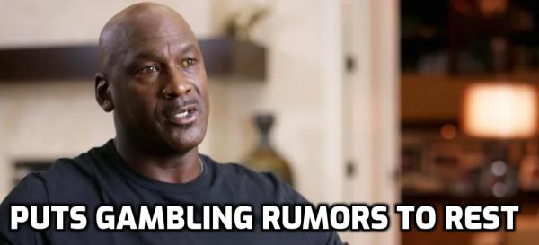 Michael Jordan Puts Gambling Suspension Rumors to Rest