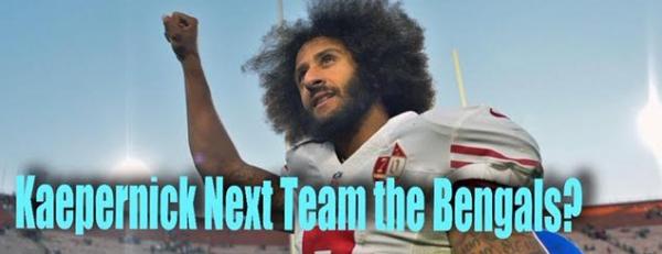 Kaepernick Next Team Odds...Bengals on Top
