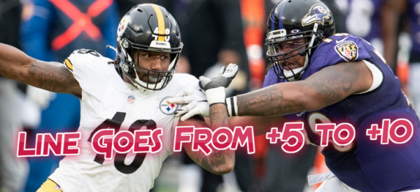Ravens Line Goes From +5.5 to +10 With More Covid Positives