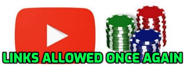 Poker Links Allowed Back on YouTube Channels, Matusow Leaving Poker?