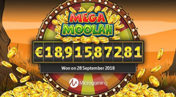 Record win on Mega Moolah