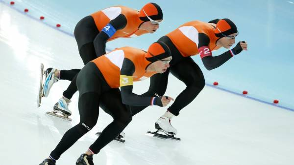 Netherlands Speed Skating Men's Team Pursuit
