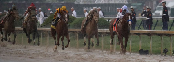 2020 Belmont Stakes Mudders
