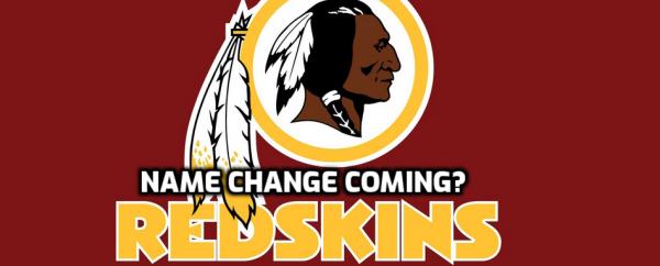 Redskins Ponder Name Change