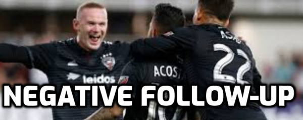 DC United, Toronto FC Players Follow Up Covid Tests Negative