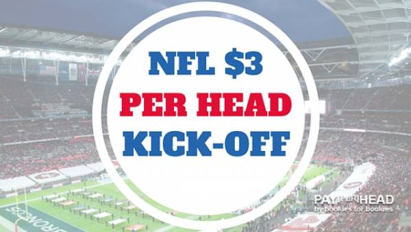 Online Bookies Prepare For NFL Season With $3 Per Head Kick-Off Deal