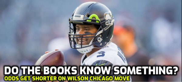 Russell Wilson to the Chicago Bears Betting Odds