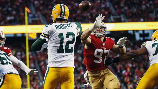 Green Bay Packers at San Francisco 49ers NFL Week 3 Odds