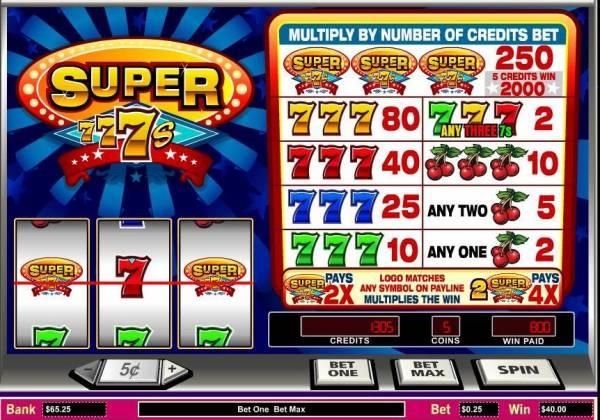 Parlay Gaming Slots