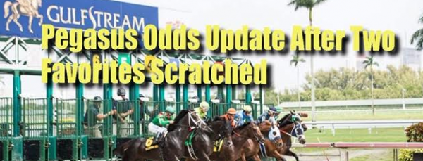 JAZZ Sports Updates Pegasus World Cup Odds After Last-Minute Scratches