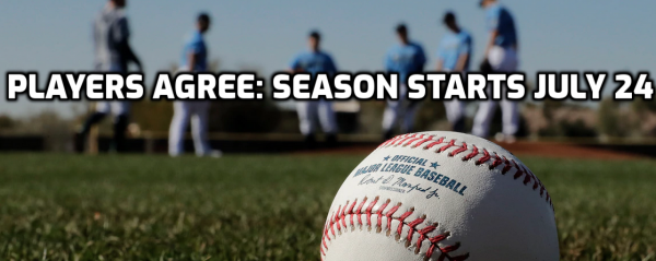 MLB Players Agree to 60 Days, Opening Day July 24