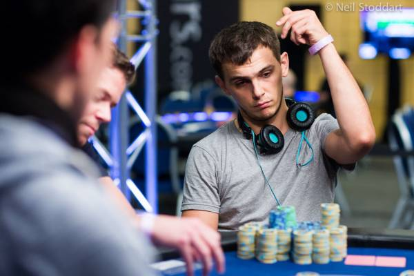 Jaroslaw Sikora has been in the spotlight at EPT Malta since Monday when he bagg