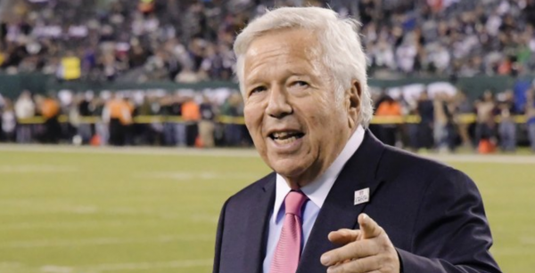 Sex Solicitation Charges Dropped Against Pats Owner