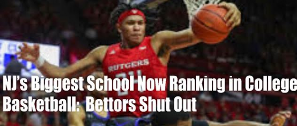 Can't Bet Rutgers Basketball Games Online From New Jersey