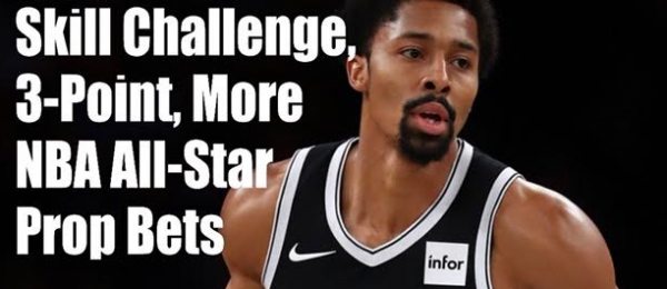 Spencer Dinwiddie Payout Odds to Win the Skills Challenge - 2020 NBA All Star Weekend