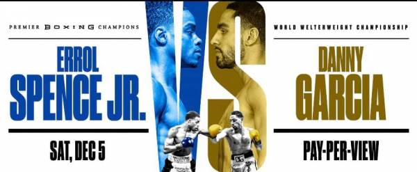 Where Can I Watch, Bet the Errol Spence Jr. vs. Danny Garcia Fight From Fort Worth Texas