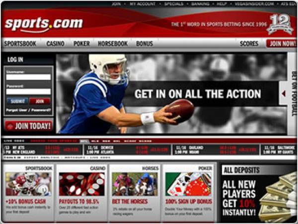 Sports.com Merged into Sportsbook.com