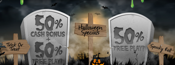 Scary 50 Percent Online Sportsbook Cash Bonus for a Limited Time Only