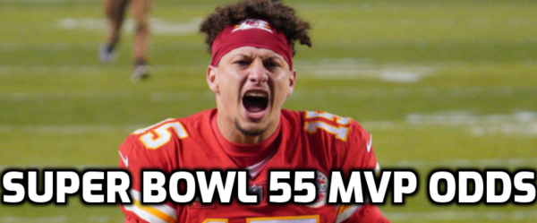 Odds to be Named Super Bowl 55 MVP