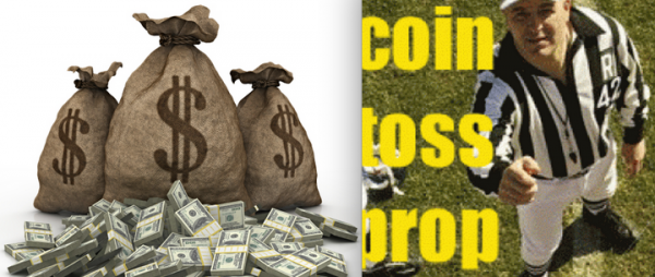 Super Bowl 51 Coin Toss Result Prop Bet – Tails Pays $50