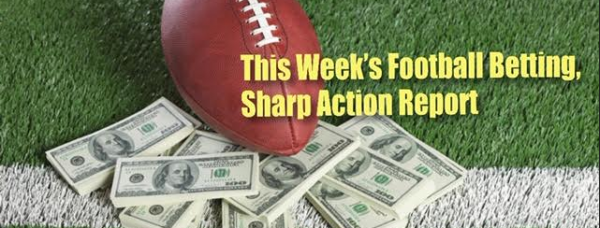 This Week's Most Bet On, Sharp Action Report