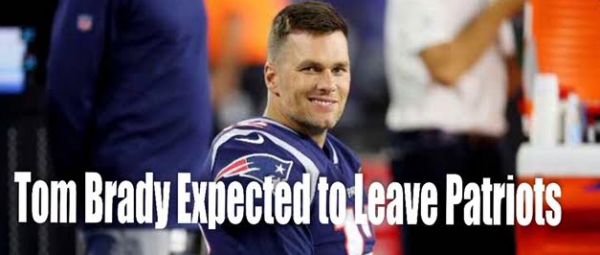 Tom Brady Expected To Leave The Patriots According to Oddsmakers
