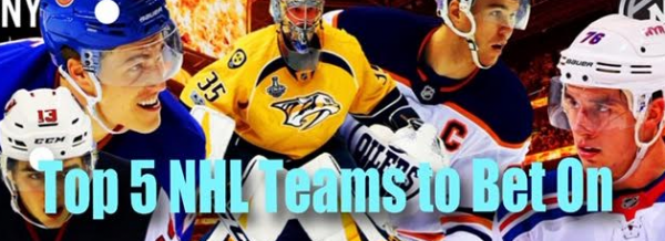 When the NHL Returns; 5 Teams to Consider Betting On