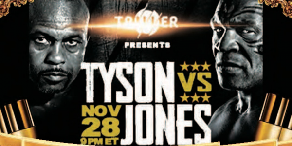Where Can I Watch, Bet the Mike Tyson Vs. Jones Jr. Fight From Dallas?