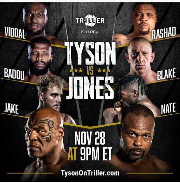 Where Can I Watch, Bet the Mike Tyson Vs. Jones Jr. Fight From Great Falls, Montana