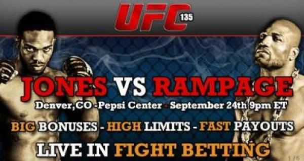 UFC 135 Betting Odds
