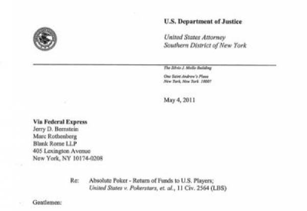 United States District Attorney's office has entered into an agreement with Abso