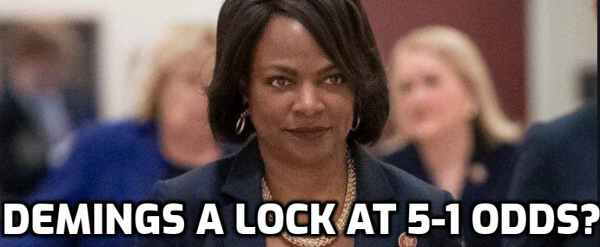 Former Police Chief Val Demings Second Shortest Odds in Veep Stakes