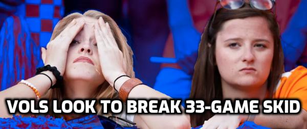 Tennessee Vols Seek to Break This 33-Game Streak in Game Against UGA