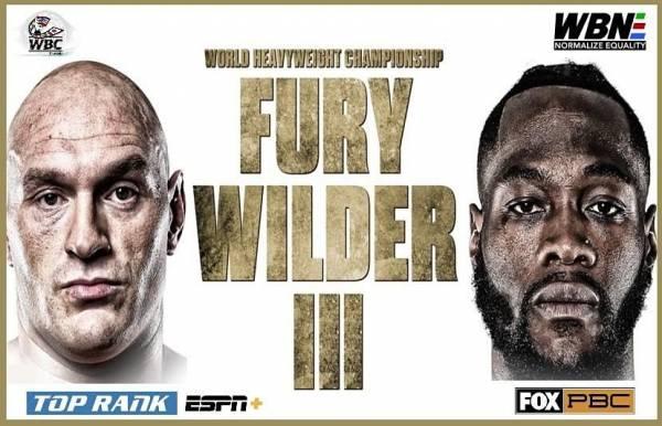 Where Can I Watch, Bet Wilder vs. Fury 3 From Stockton, Manteca, Modesto California