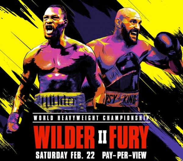Where Can I Watch, Bet Wilder vs. Fury 2 From Rochester NY