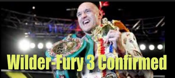 Wilder-Fury 3 Confirmed: BetOnline Posts Props