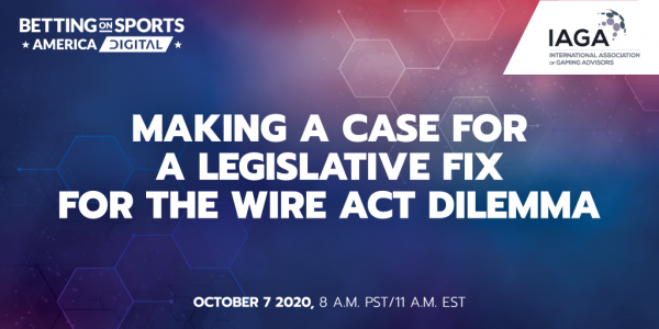 Fixing The Wire Act: Virtual Conference Scheduled October 7