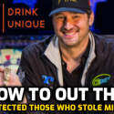 """Mouth to Out Hellmuth for """"Protecting People Who Steal Millions in Poker World"""""""