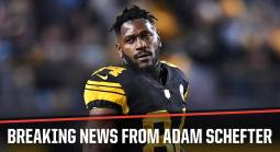 Antonio Brown Wants Trade From Steelers - Latest Odds