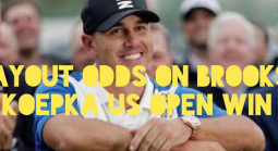 Payout Odds on Brooks Koepka to Win the 2019 US Open