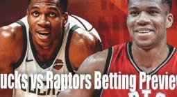 NBA Betting – Milwaukee Bucks at Toronto Raptors