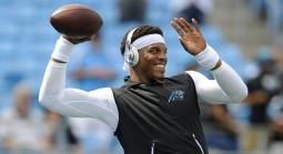What is the FanDuel Line on the Saints-Panthers Game?