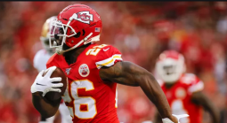 Where Can I Find Super Bowl 54 Prop Bets for Damien Williams First to Score a Touchdown?