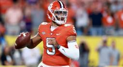 What is the Spread on the Clemson Tigers vs. NC State Wolfpack Week 4 Game