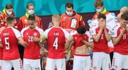 Denmark vs. Finland Euro 2020 Group B Game Postponed After Christian Eriksen Collapses