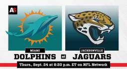 NFL Betting – Miami Dolphins at Jacksonville Jaguars